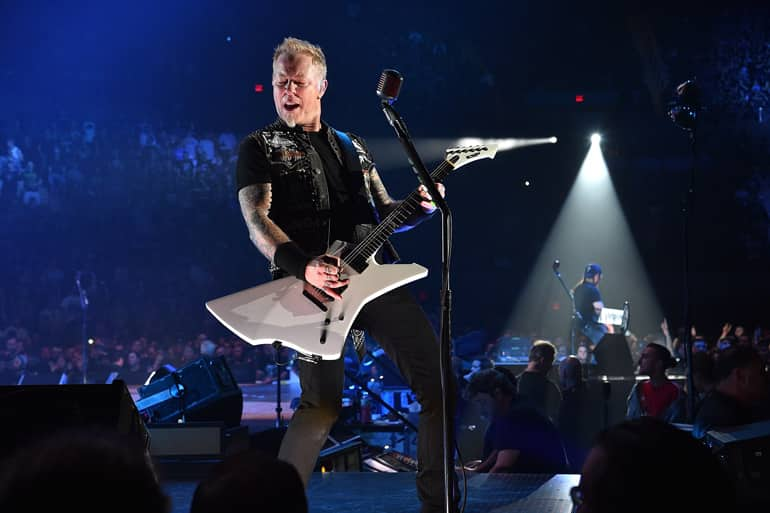 metallica on lineup in 2018