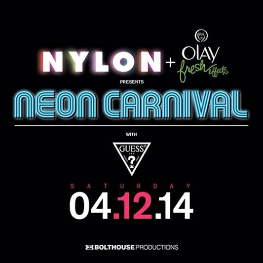 neon carnival coachella 2014 after party