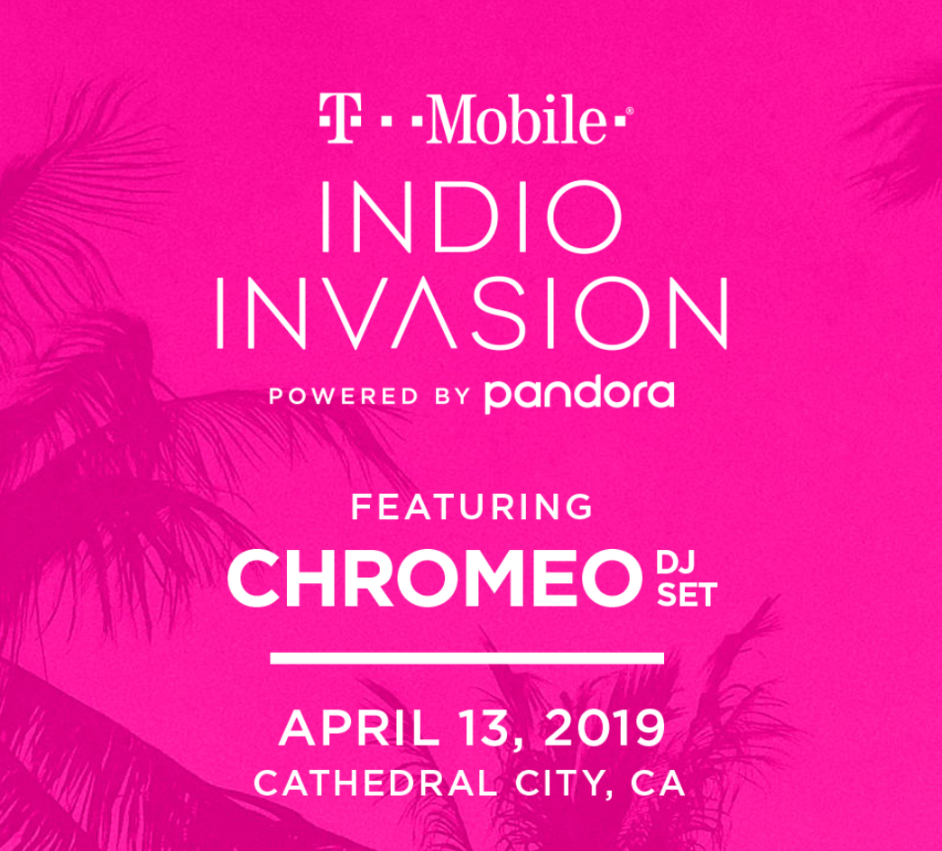 Pandora Indio Invasion 2019