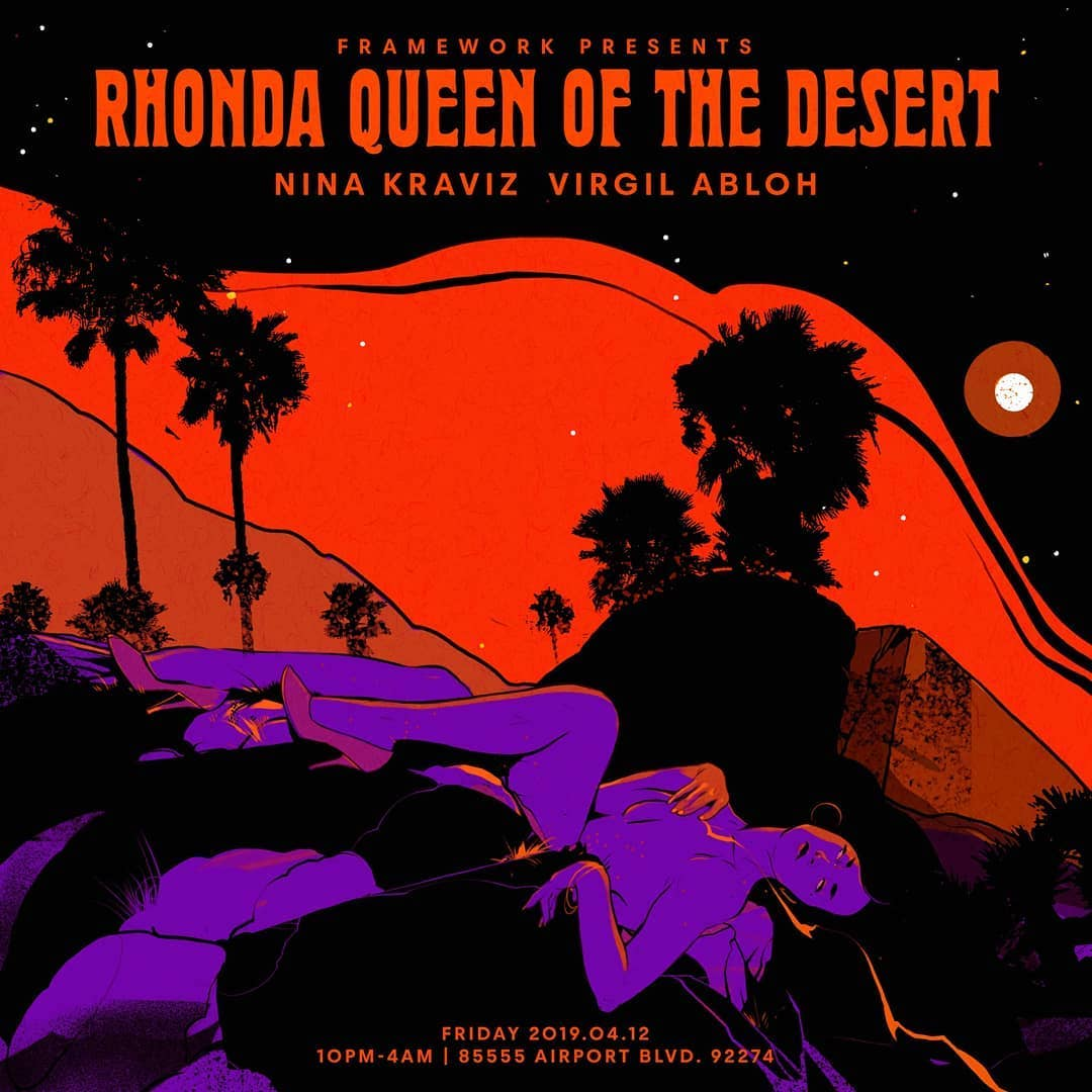 Rhonda Queen of the Desert Poster