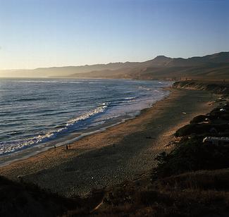 santa barbara surf spot jalama