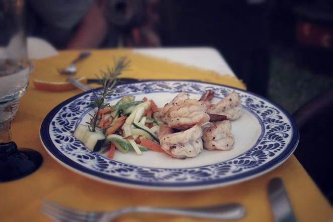 shrimp dish maria corona cabo mexico