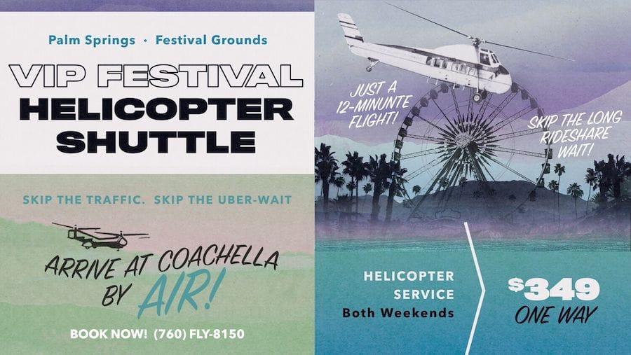 coachella helicopter