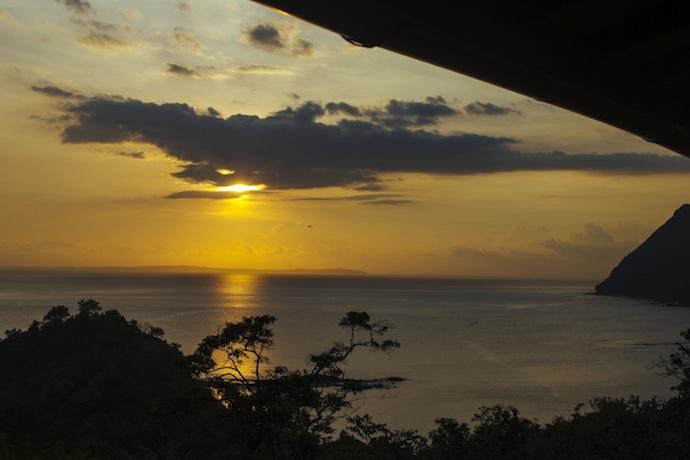 sunset in sumbawa