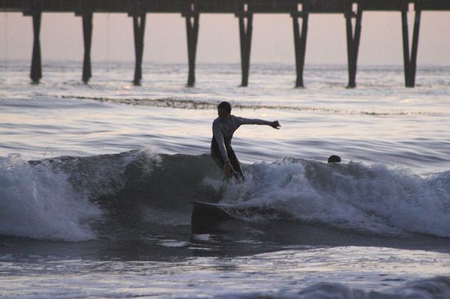 surfing haskells beach goleta