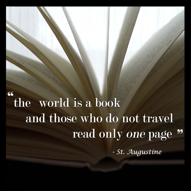 St. Augustine Travel Quote Book