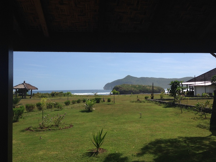 View from Santai