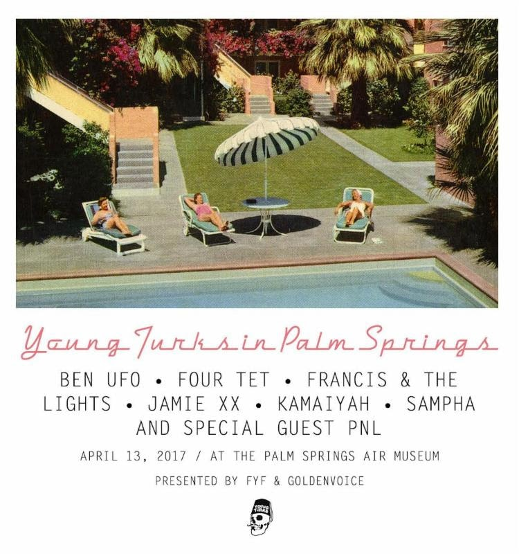 Jamie XX Coachella Pre-Party